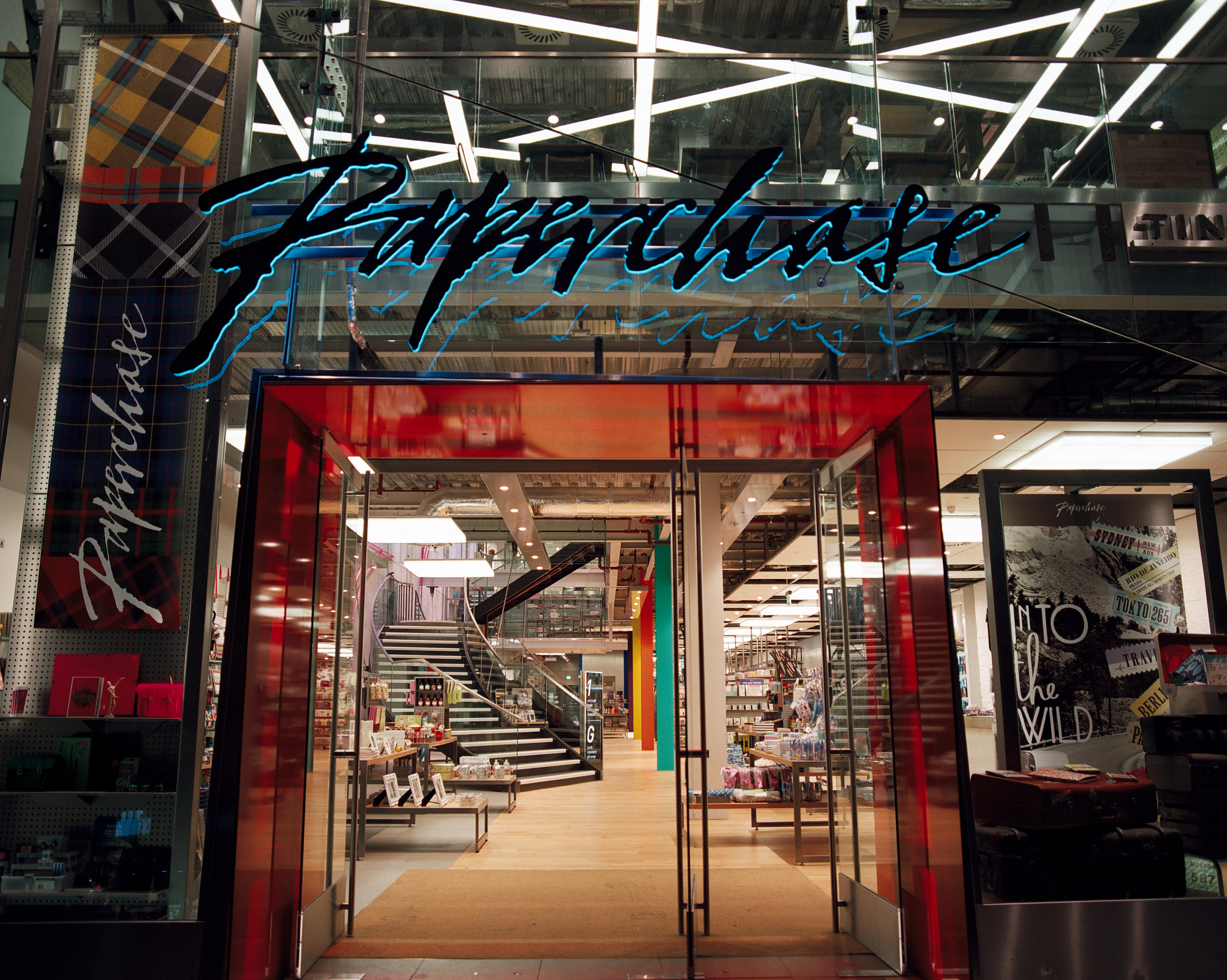 Above: While negotiations with landlords are still ongoing, Paperchase is expected to continue trading from 90-100 stores as well as online.
