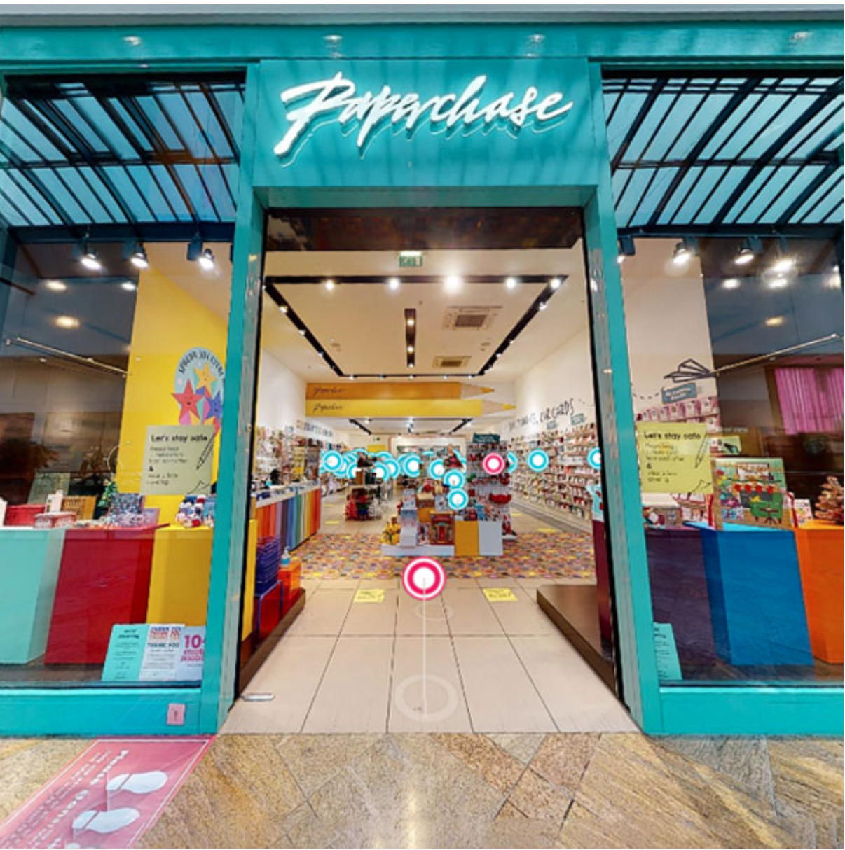 Above: While no Paperchase stores are able to trade right now, it has a 'virtual store' hosted on its website. (https://www.paperchase.com/the-journal/paperchase-virtual-store/)