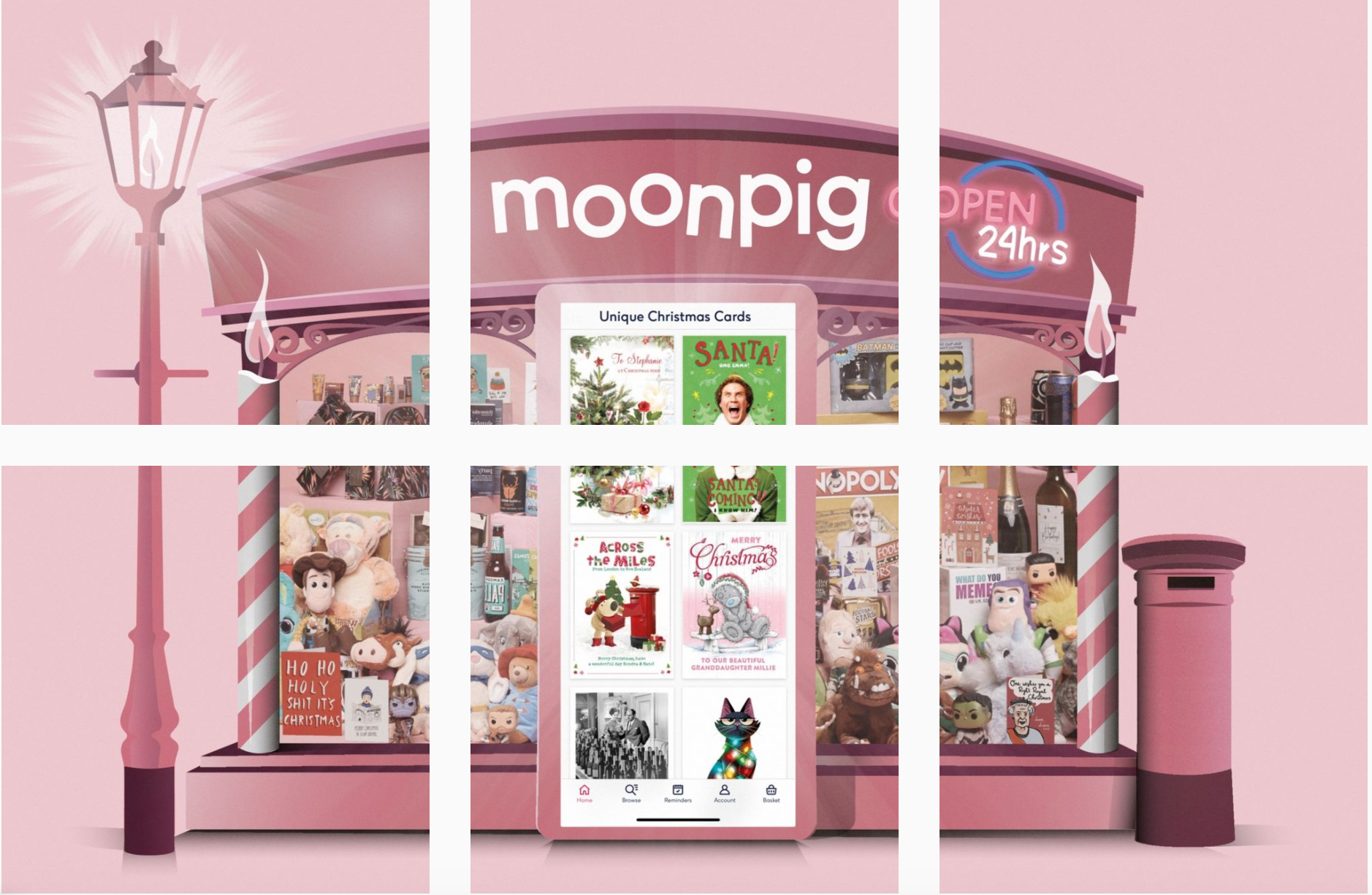Above: Moonpig Group claims to have had 12.2 million active customers as of October 2020.