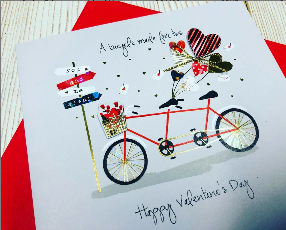 Above: A Valentine's Day design from Ling.