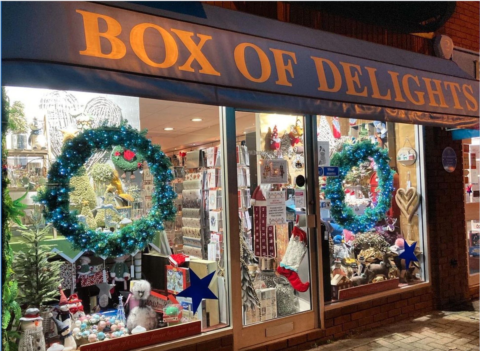 Above: Box of Delights got its Christmas sales off to a cracking start.