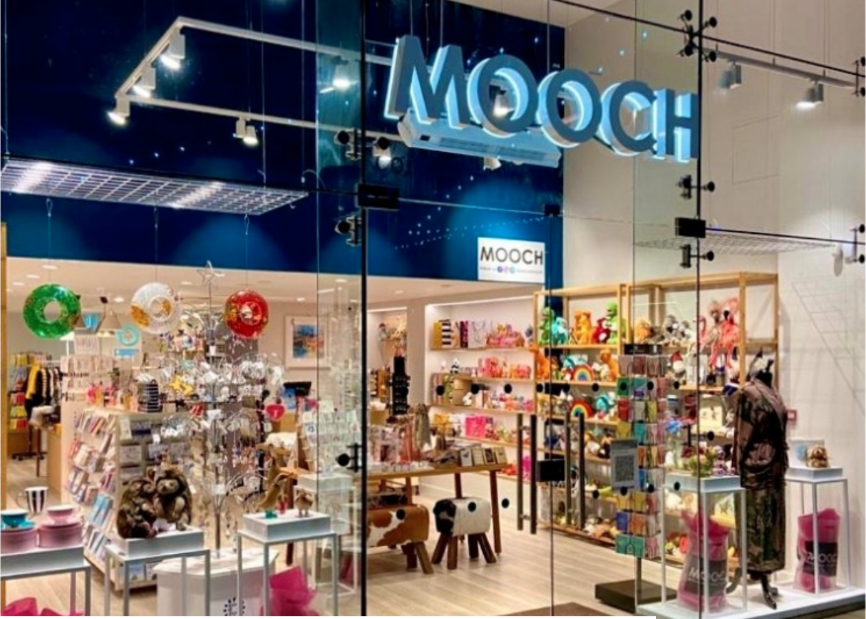 Above: Mooch opened its fifth store in October, in the Rushden Lakes shopping centre in Rushden.