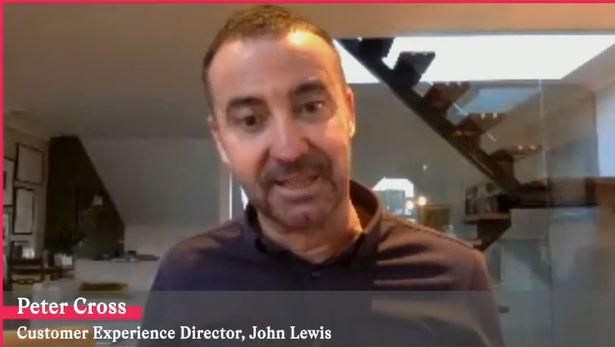 Above: Peter Cross, customer experience director at John Lewis.