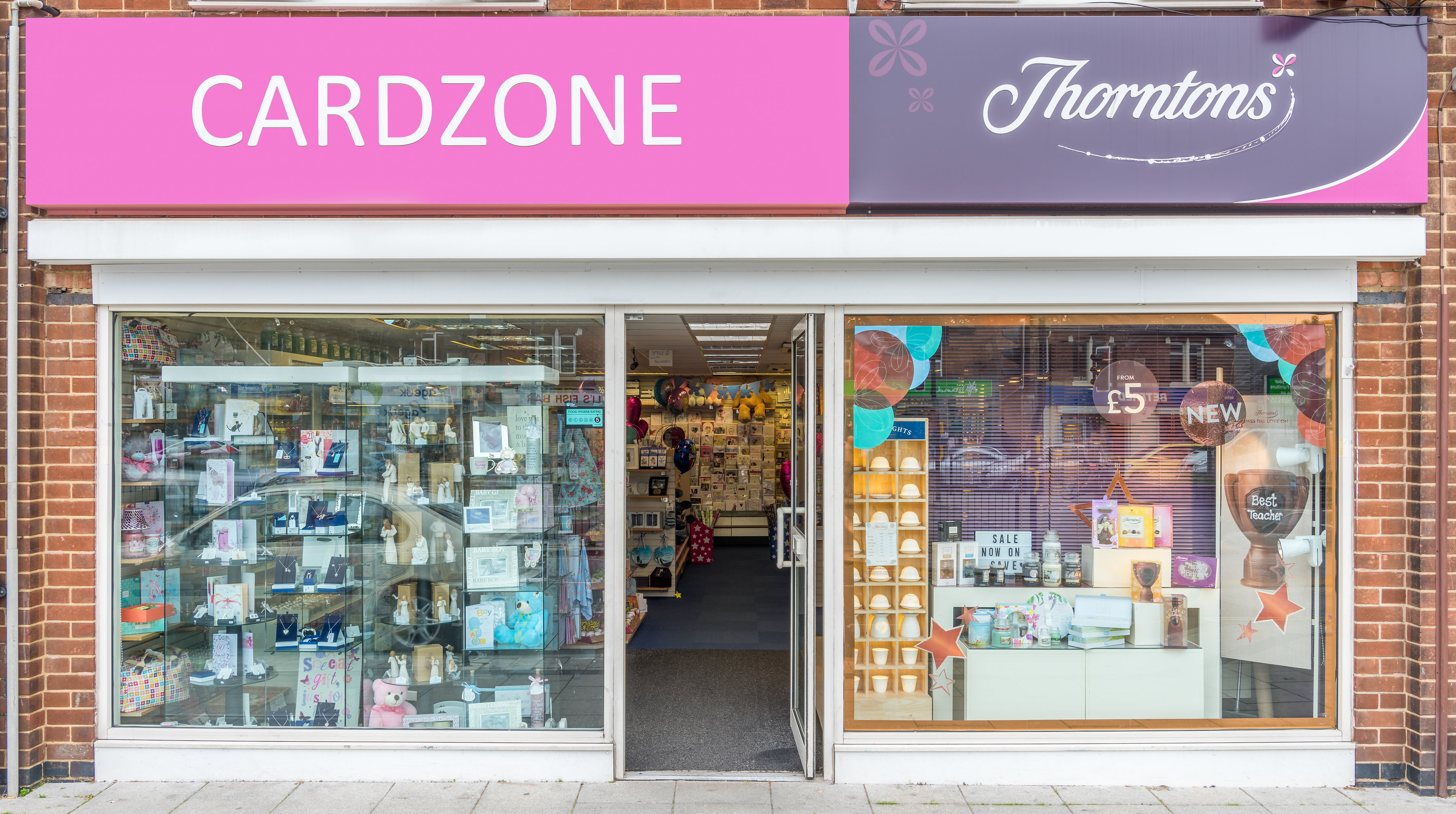 Above: Cardzone is Thorntons largest franchisee, with 36 stores.