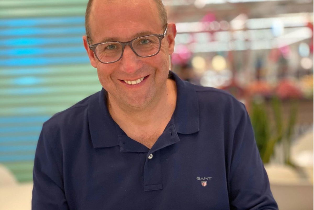 Above: Darcy Willson-Rymer, the new ceo of Card Factory. Although joining latterly from Costcutter, his previous experience also includes heading up Clinton Cards.
