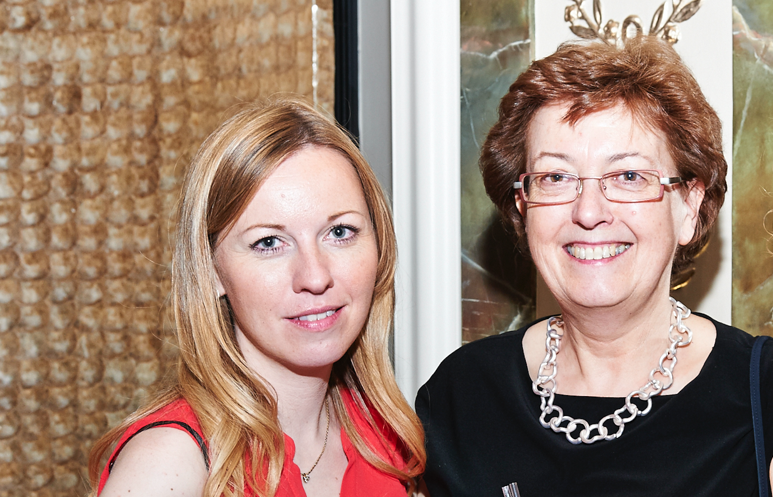 Above: Liz Killick (right) with her daughter Clare White with whom she co-owns Calladoodles.