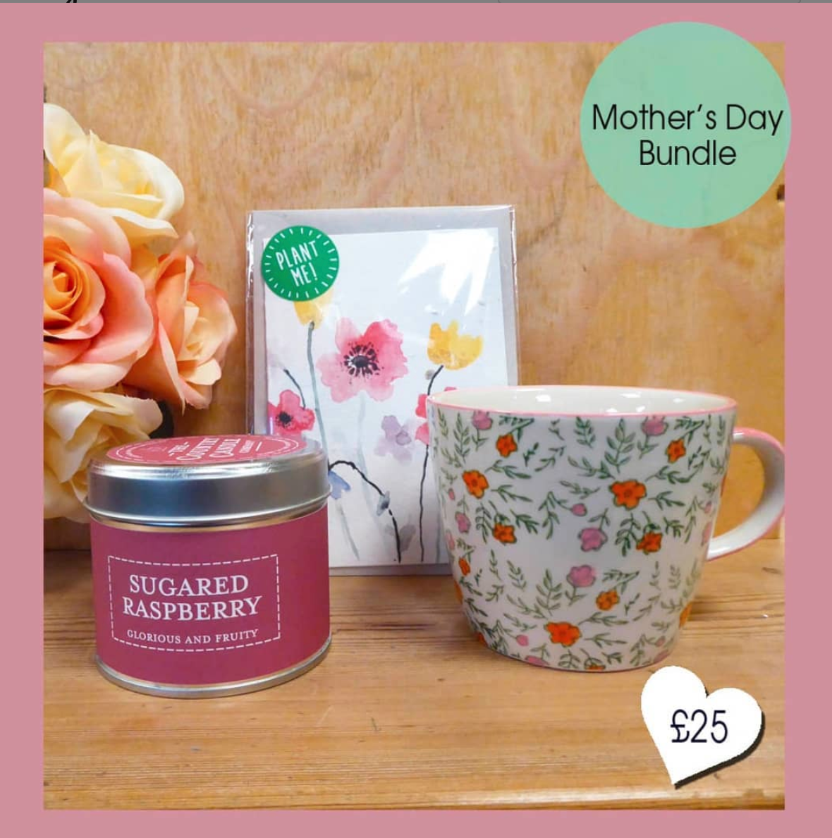 Above: A Mother's Day bundle from The Indigo Tree.
