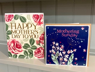 Above: Two best selling cards at Daisy Park, from Woodmansterne and Molly Mae.