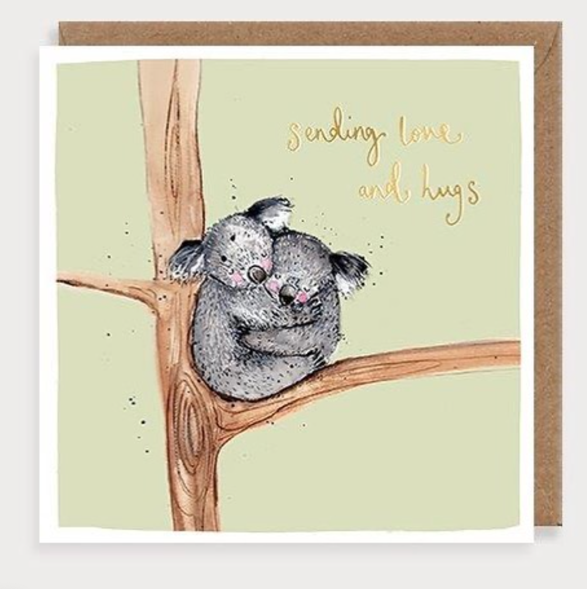 Above: A Louise Mulgrew card, one of the brands that McMillan distributes.