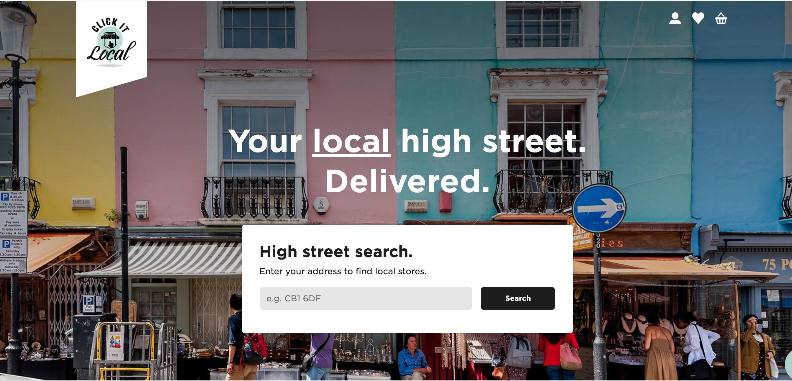 Above: Click It Local allows consumers to search by product as well as by store.