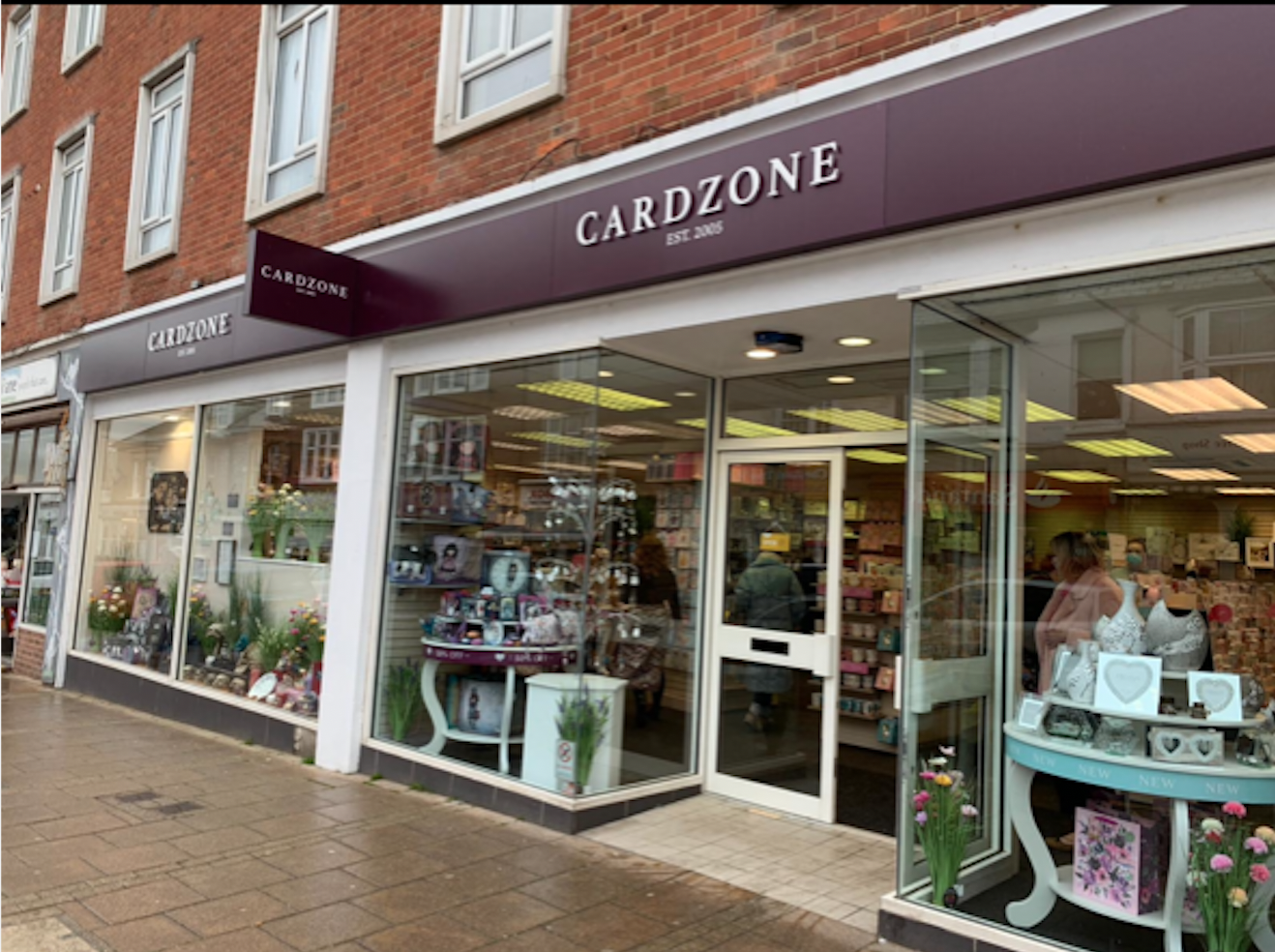 Above: The new Cardzone store in Seaford.