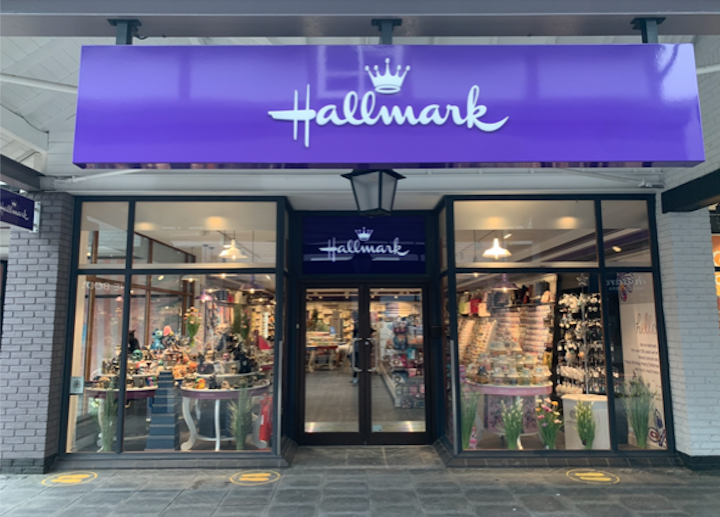 Above: The Hallmark branded shop in Cheshire Oaks is Cardzone's 23rd outlet store. It sells more than just Hallmark products.