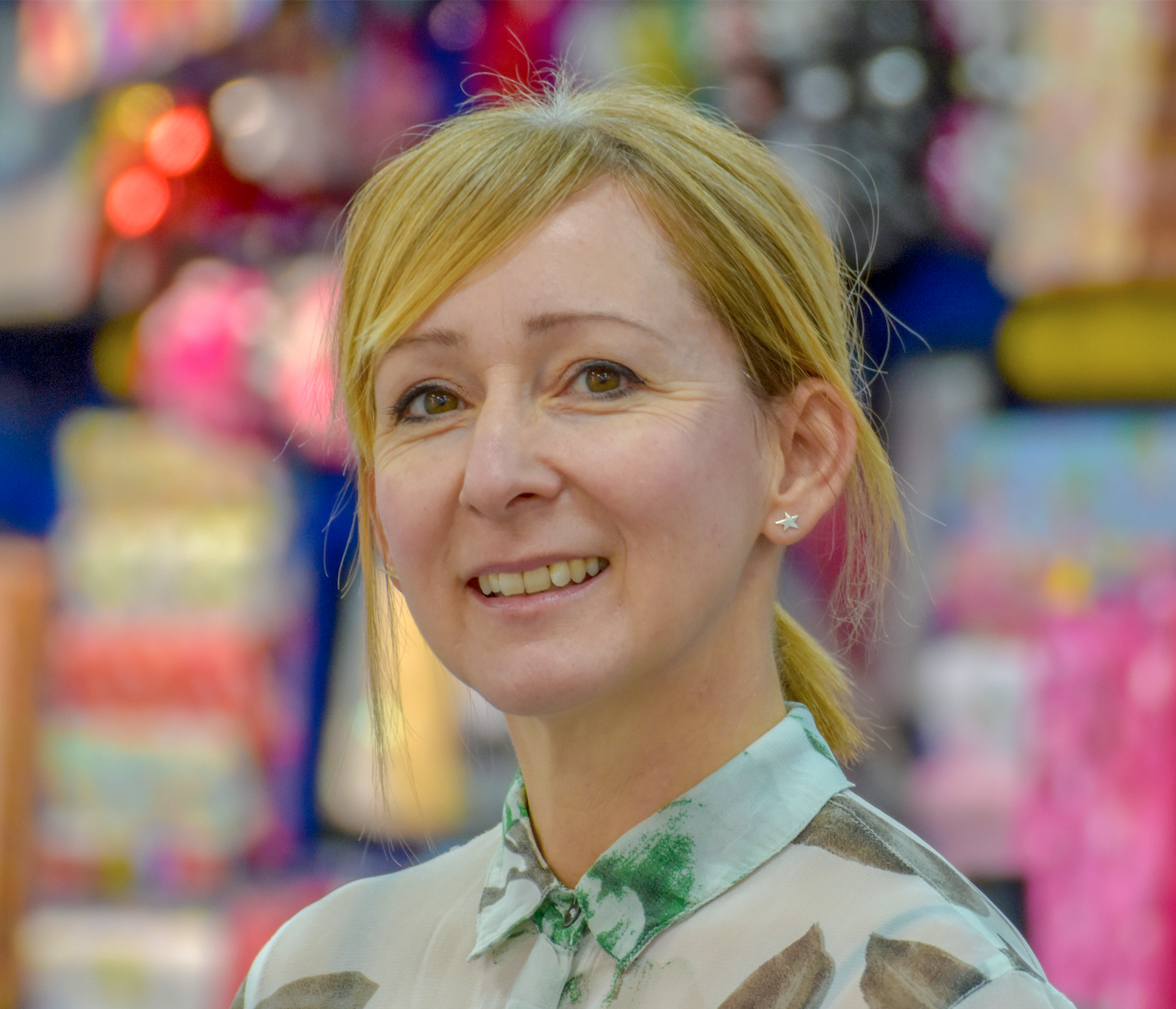 Above: Jo Bennett, studio director of Card Factory will share her views and experiences.