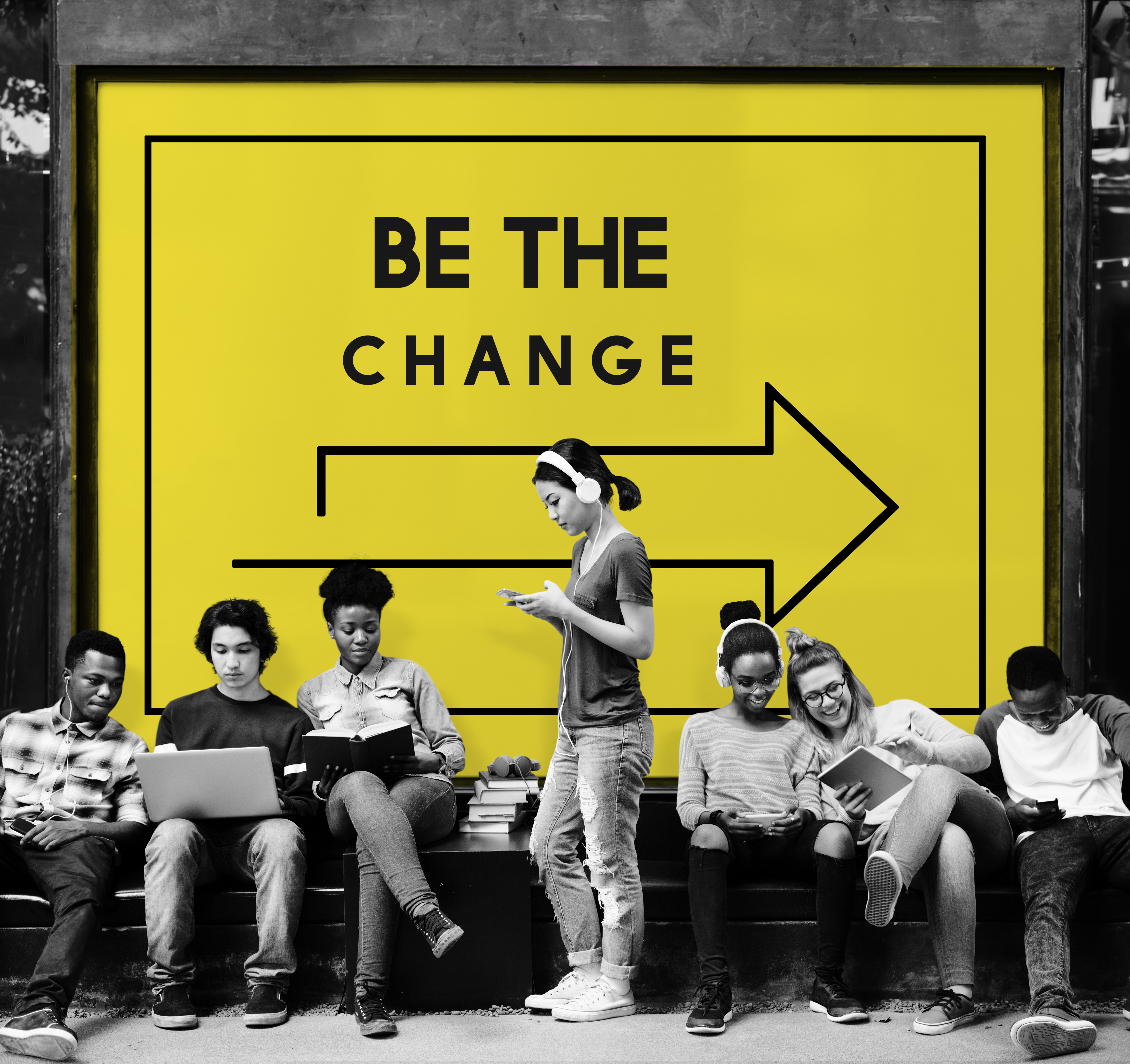 Above: POC is facilitating real change.