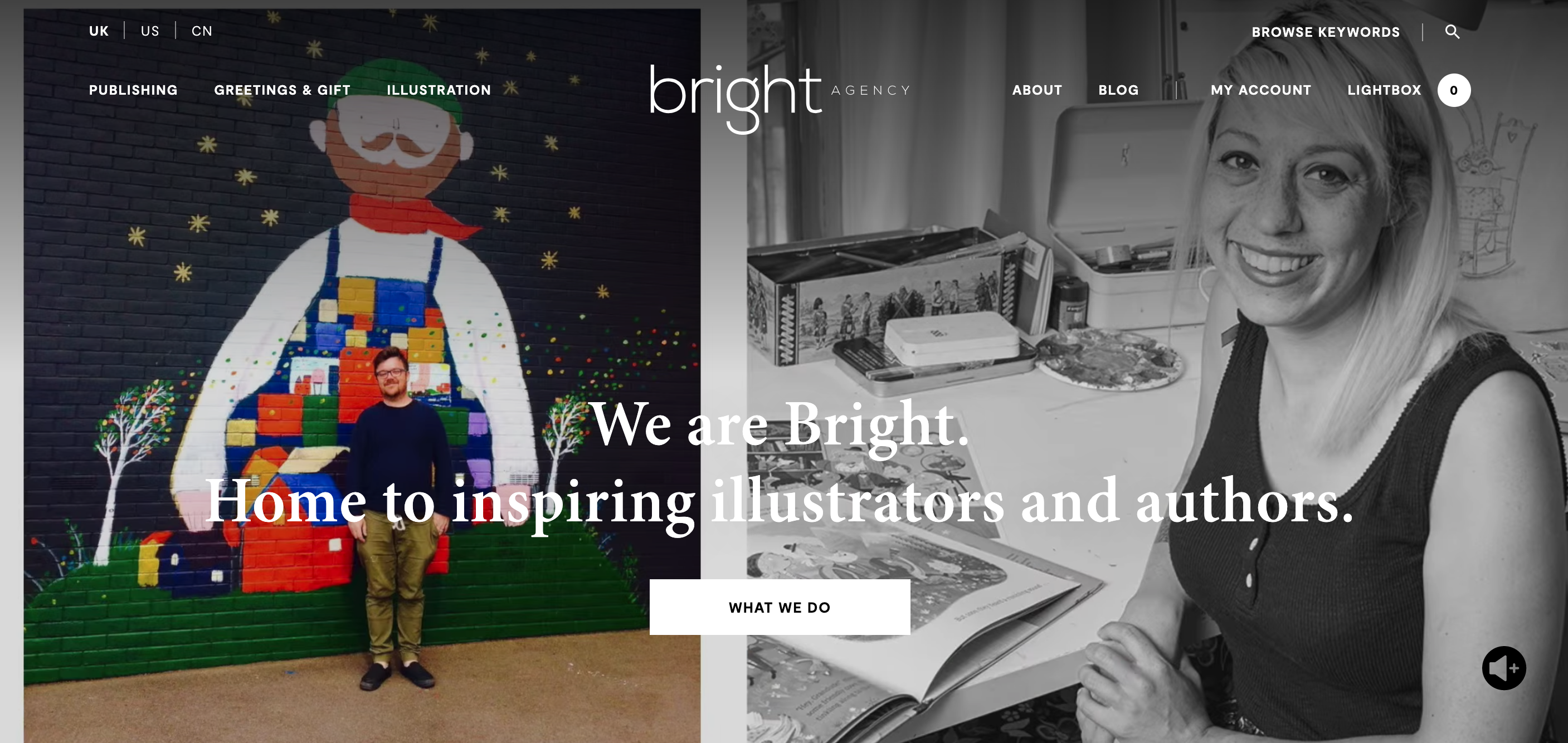 Above: Bright's new all singing all dancing website has now gone live.