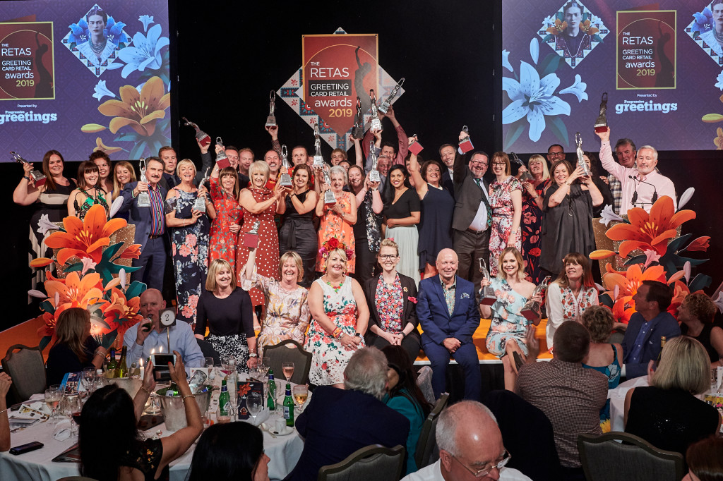 Above: The happy winners at The Retas 2019 Frida Kahlo-themed event.