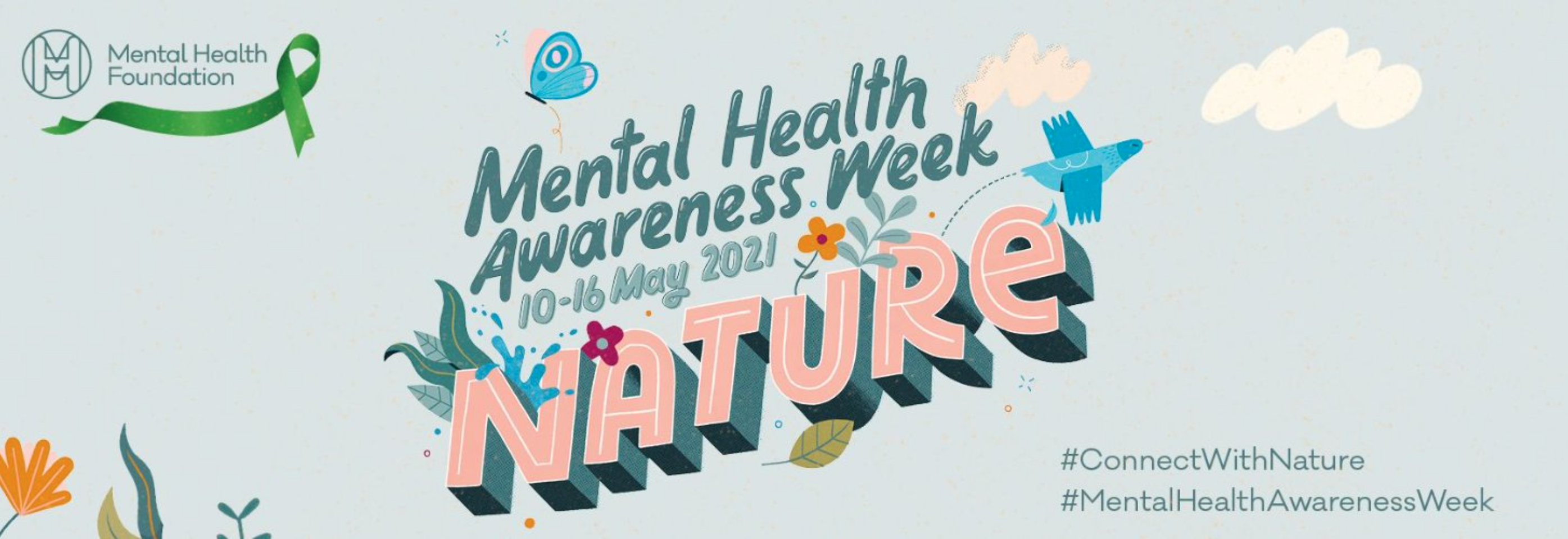 Above: The theme for this year's Mental Health Awareness Week is nature.