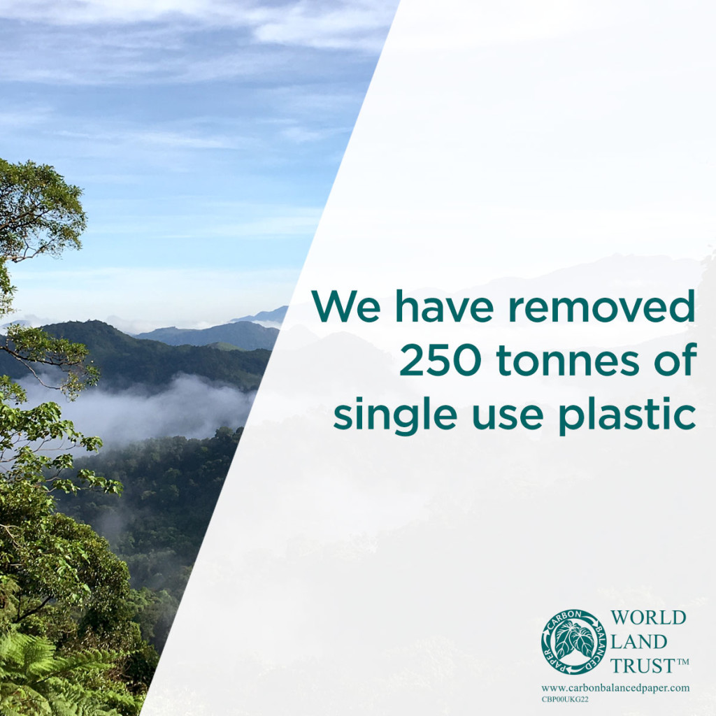 Above: The collaboration with World Land Trust is just one of the many ways UKG has improved its environmental footprint.