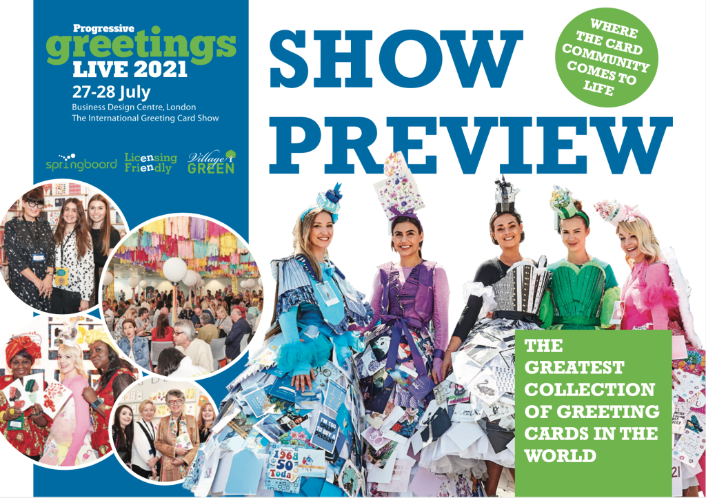 Above: The front cover of the PG Live Show Preview.