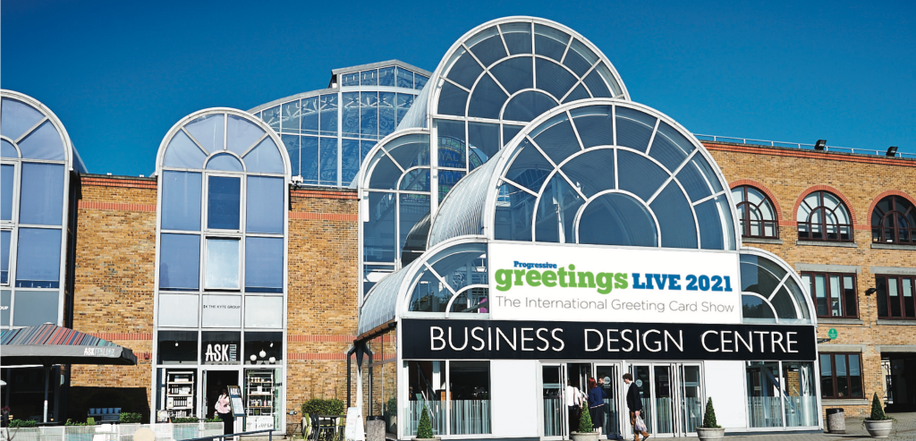 Above: The BDC will be welcoming the greeting card community in seven weeks' time to PG Live.