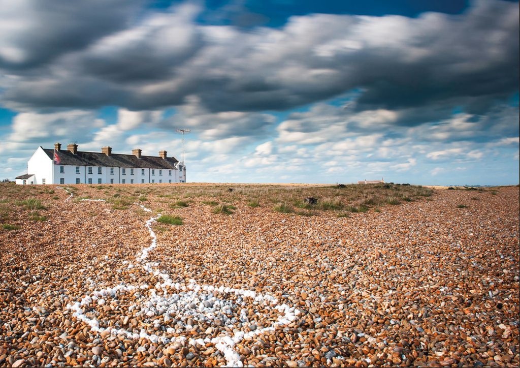 Above: Shell Shingle Street, one of the wonderful scenes captured by local photographer Gill Moon whose products are stocked by Dzodzo.