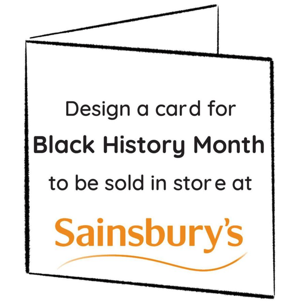 Above: To get the cards into Sainsbury's in time, the deadline for submitting designs is August 3.