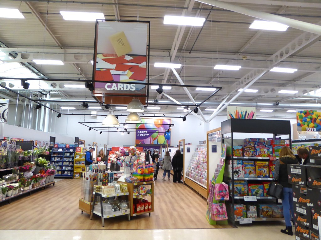 Above: UKG is to become category manager for greeting cards in all Tesco's 1,000+ stores.