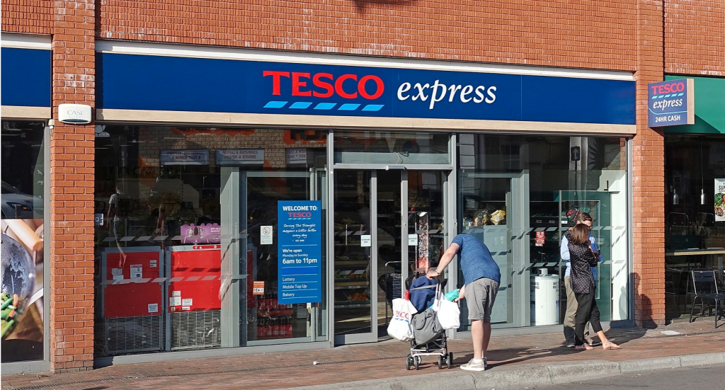 Above: UKG is to act as the broker in all of Tesco's fascias which sell greeting cards.