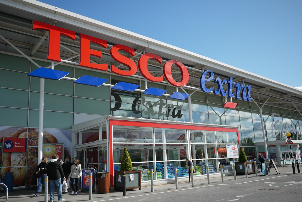 Above: UKG takes over as greeting category manager for Tesco from the start of 2022.