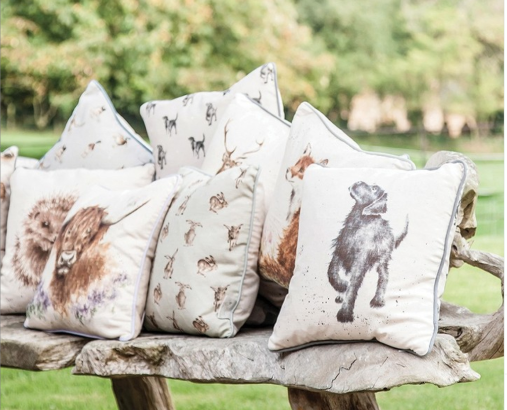Above: Some Wrendale cushions.