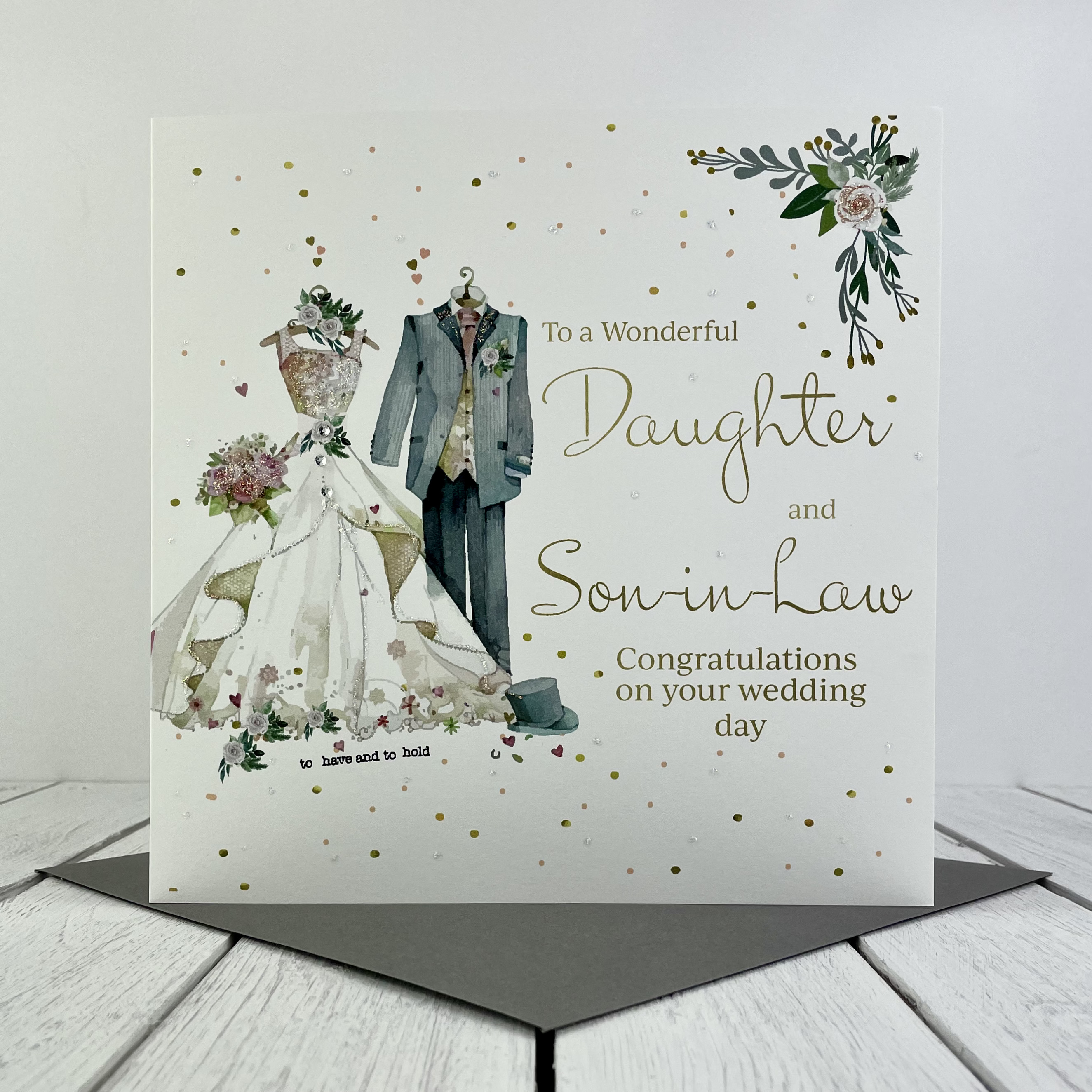Above: One of the new wedding designs from Rush Design.