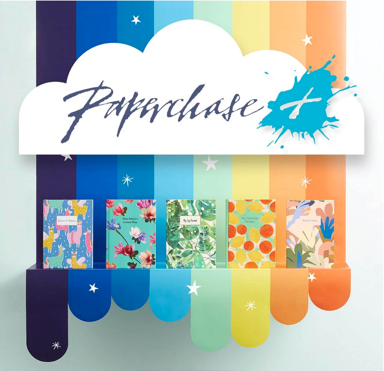 Above: Under the new ownership, Paperchase is continuing to promote its latest ranges and consumer offers.