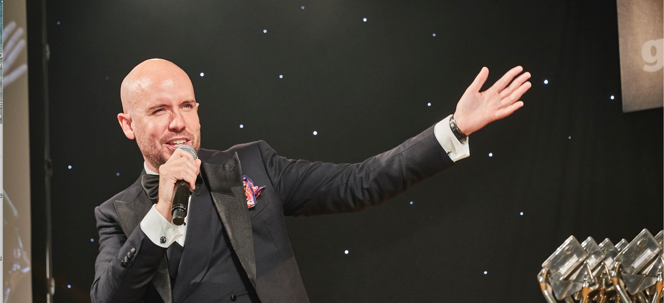 Above: Tom Allen will be hosting The Henries 2021 this October.