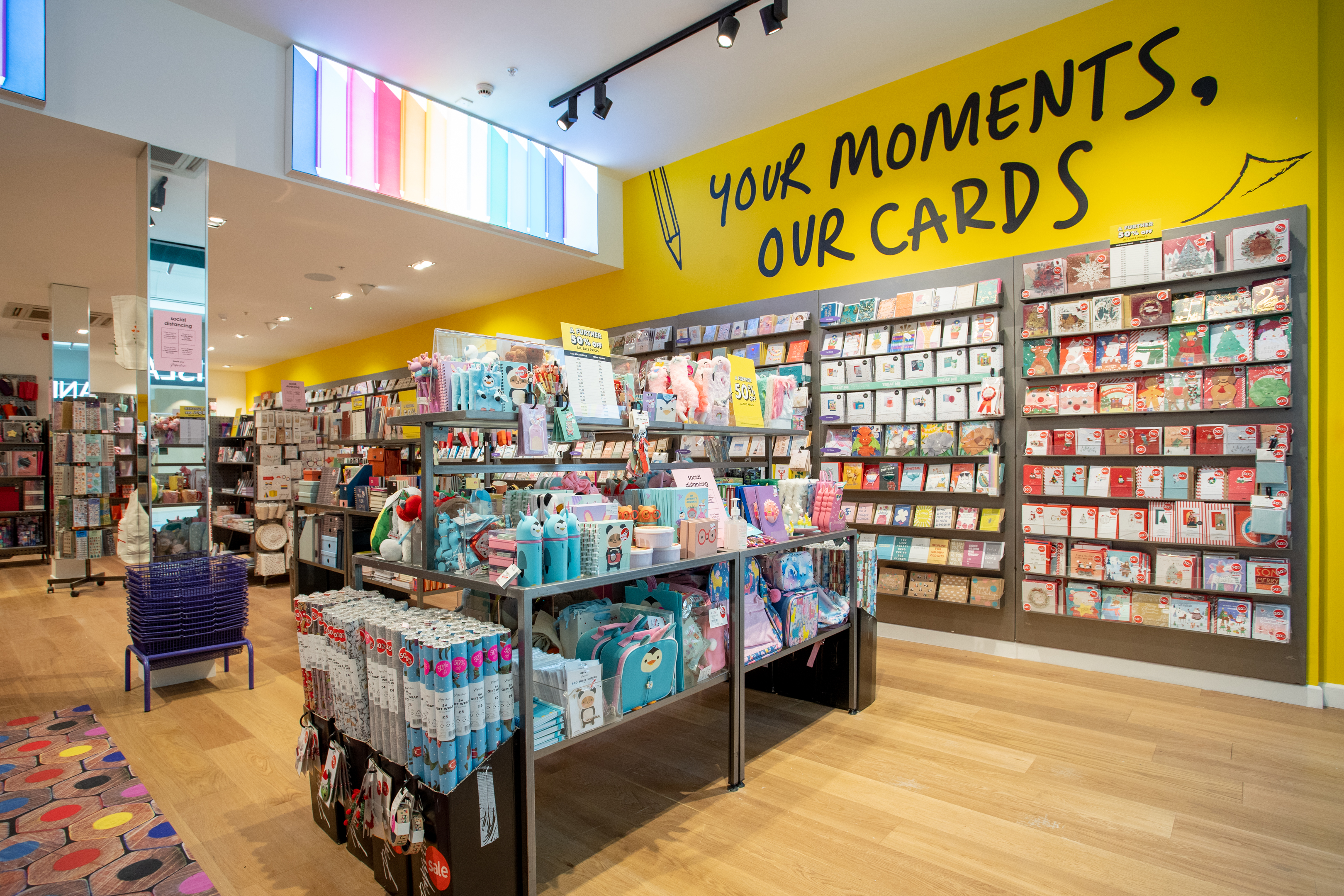 Above: Paperchase has made many good moments for suppliers over the years, just a shame that the payout from the recent collapse is so small for unsecured creditors.