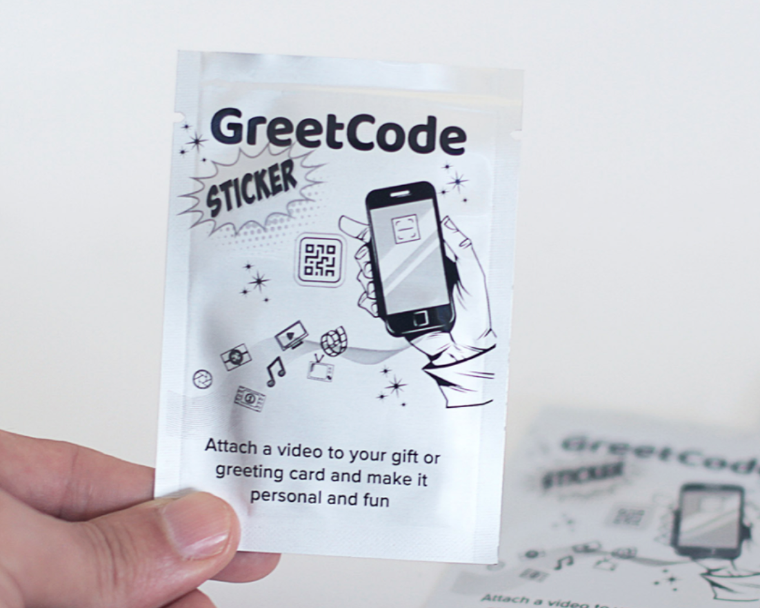 Above: Greetanica's GreetCodes enable a greeting card or a Henries ticket to really be brought to life!