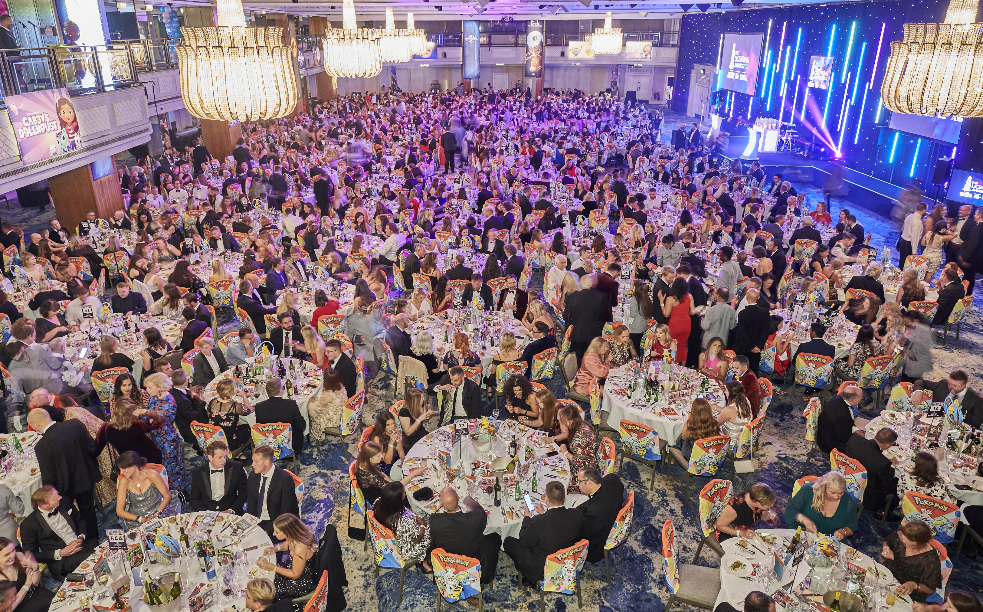 Above: Some 1,000 people attended The Licensing Awards earlier this week.