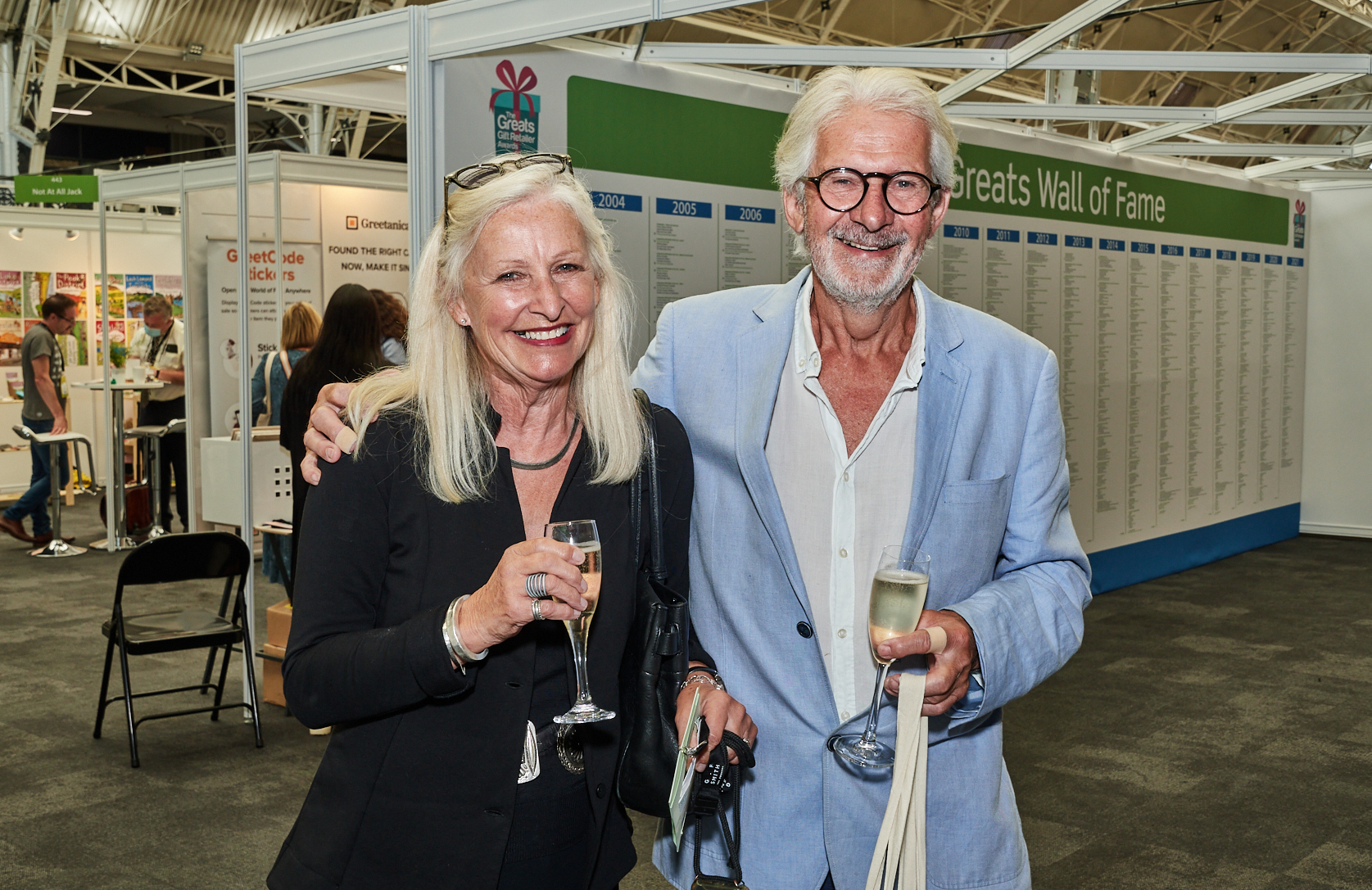 Above: Jennie and John Procter, co-founders of Scribbler at the recent PG Live.