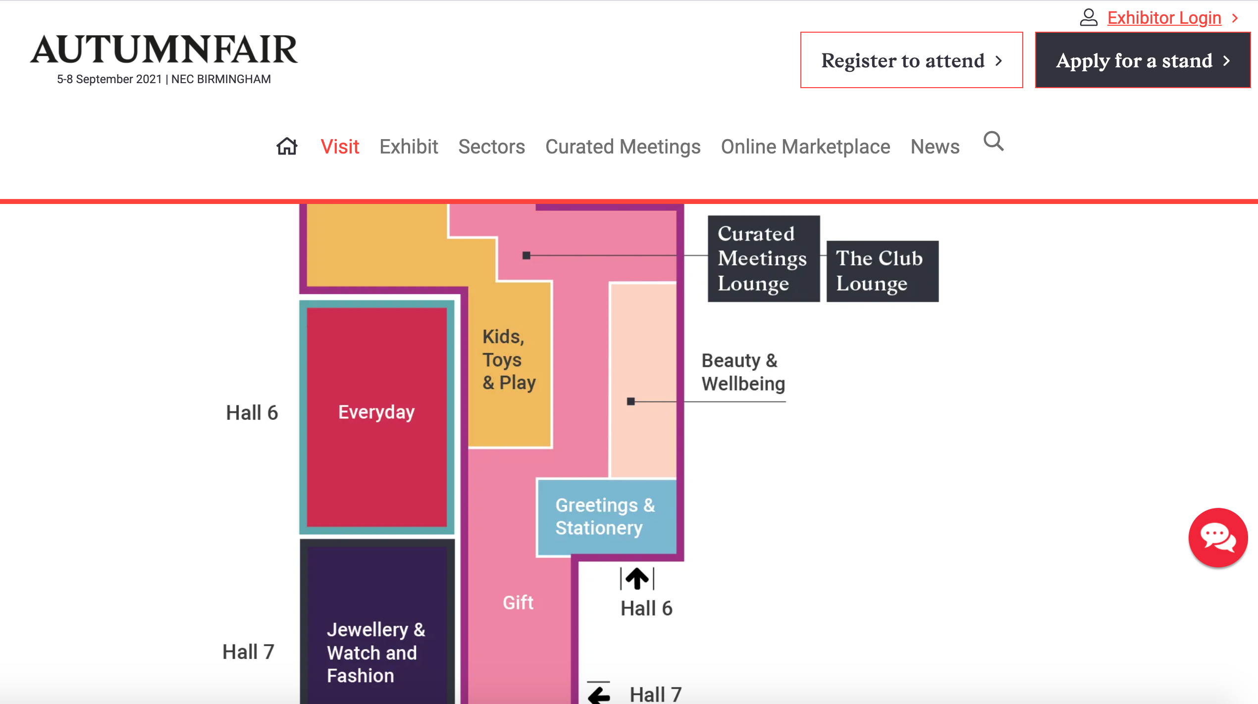 Above: The Greetings & Stationery section will be housed in Hall 6 at Autumn Fair. The full floorplan as well as the whole seminar and exhibitor programme can be found on the show's website.