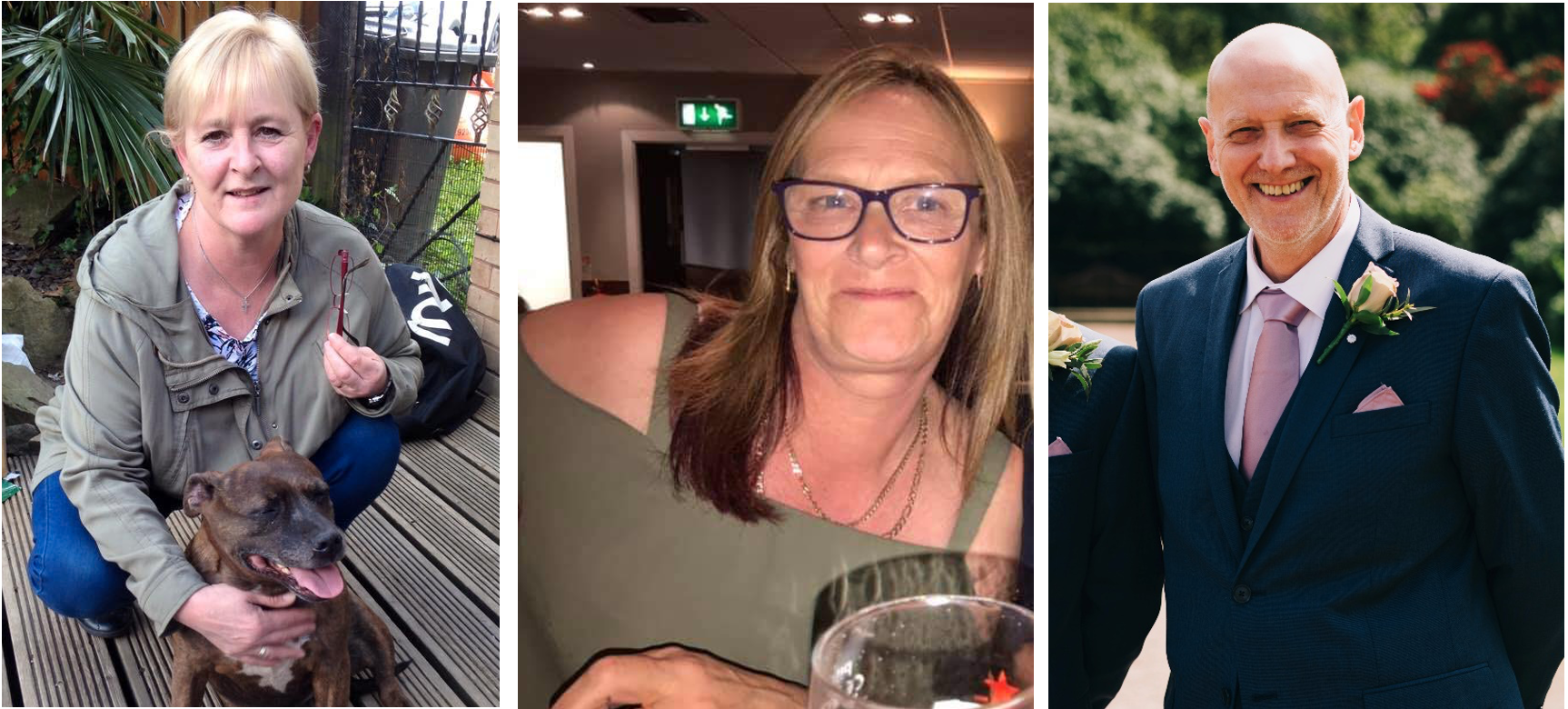 Above: The Loxleys Ladies undertook the challenge in memory of Kath Rowley (left) and Craig Zelly (right), and in support of Angie Bahardo (centre) who is currently bravely fighting her battle against cancer and was the race's guest of honour supporting from the side lines.