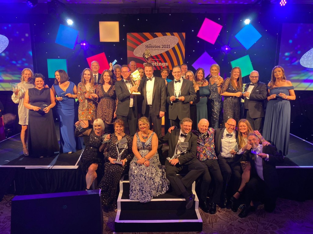 Above: The wonderful winners of The Henries Awards 2021